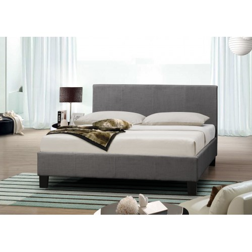 Berlin Grey Fabric Bed