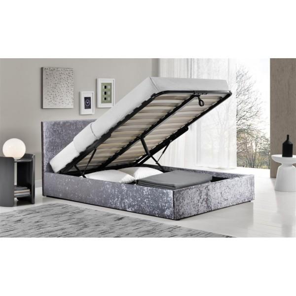Berlin Ottoman Bed (Steel Crush)