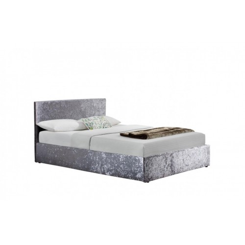 Berlin Steel Crush Ottoman Bed