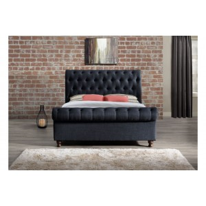 Castello Charcoal Bed