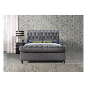 Castello Grey Bed *Out of Stock - Back Soon*