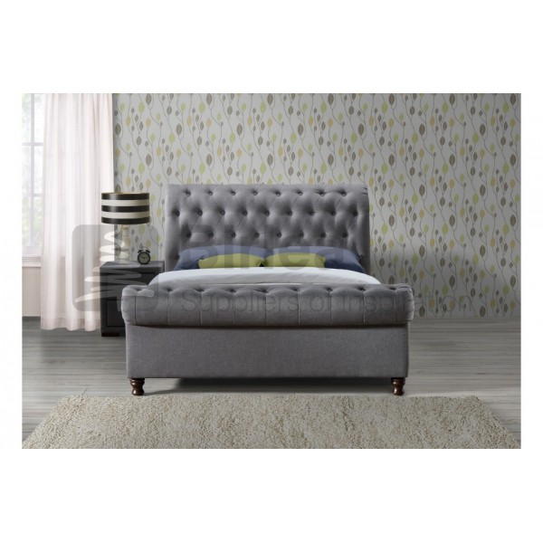 Castello Grey Bed
