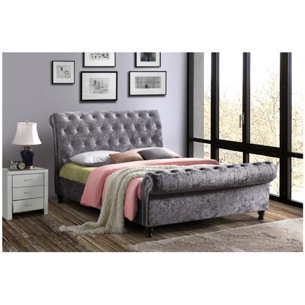 Castello Bed (Steel Crush)