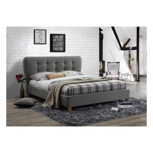 Stockholm Grey Bed *4ft Out of Stock - Back Soon*