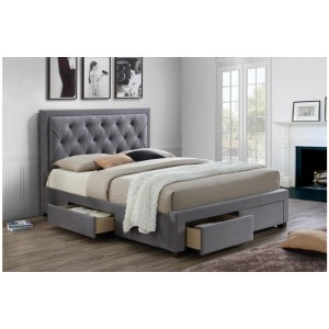 Woodbury Grey Bed