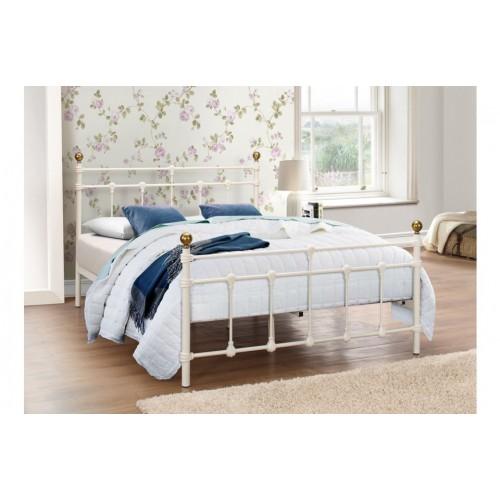 Atlas Cream Bed