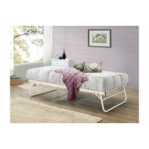 Trundle Bed in Cream