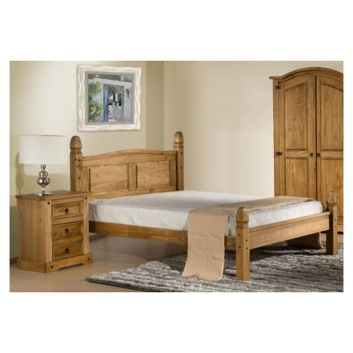 Corona Low End Bed