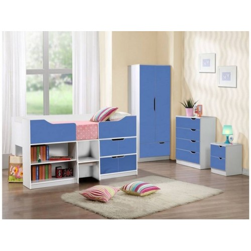 Paddington Blue & White Cabin Bed*Out of Stock - Back Soon*
