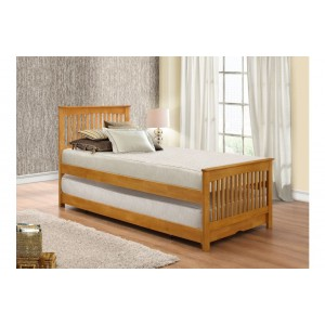 Toronto Oak Finish Guest Bed
