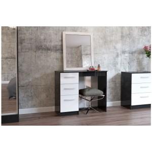 Lynx Black & White Dresser