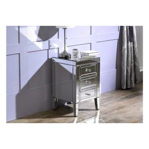 Valencia 3 Drawer Bedside Cabinet (Assembled)