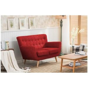 Loft Red 2 Seater Sofa