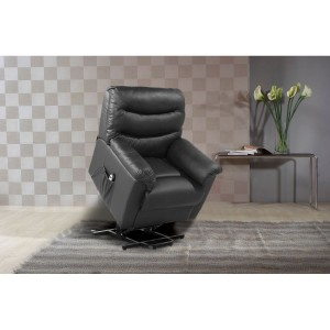 Regency Black Rise & Recline Chair