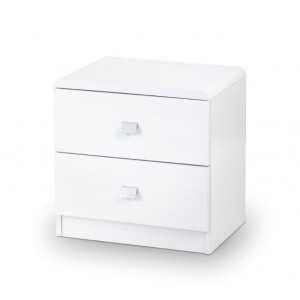 Domino 2 Drawer Bedside