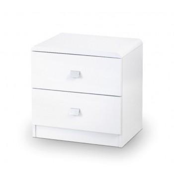 Domino 2 Drawer Bedside