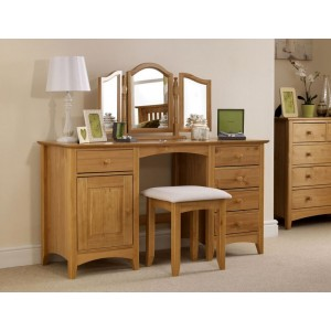 Kendal Twin Pedestal Dressing Table DISCONTINUED