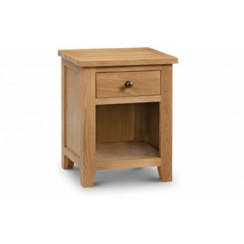 Marlborough 1 Drawer Bedside [Assembled]