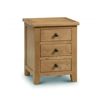 Marlborough 3 Drawer Bedside [Assembled]