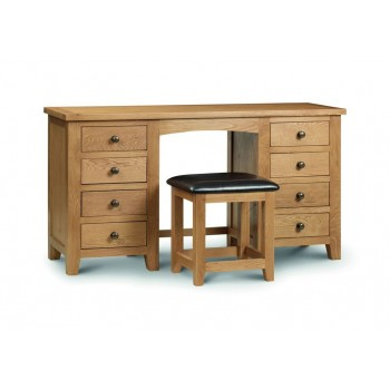 Marlborough Twin Pedestal Dressing Table [Assembled]