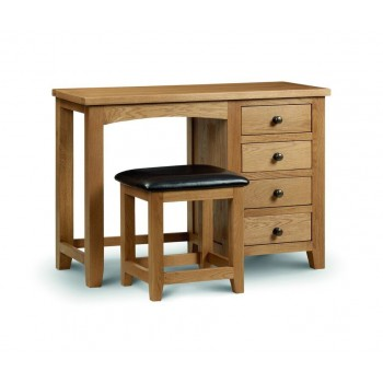 Marlborough Single Pedestal Dressing Table [Assembled]