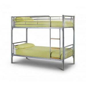 Atlas Silver Bunk Bed