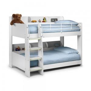Domino White Bunk Bed