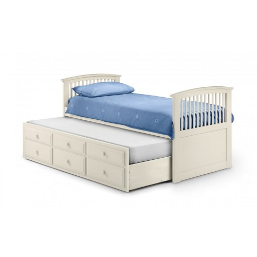 Hornblower Stone White Guest Bed