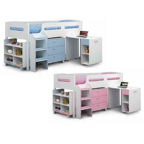 Kimbo Pink Cabin Bed *Out of Stock - Back Soon*