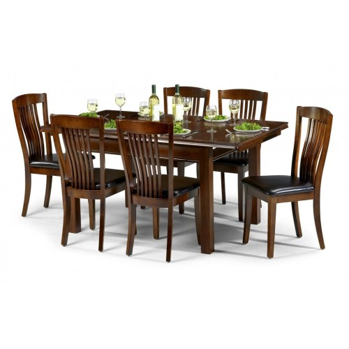 Canterbury Rectangle Dining Set {Table + 4}