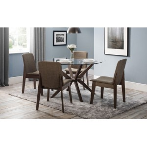 Chelsea Dining Set with Kensington Chairs {Table + 4}