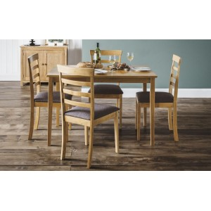 Cleo Dining Set (Table + 4 Chairs)