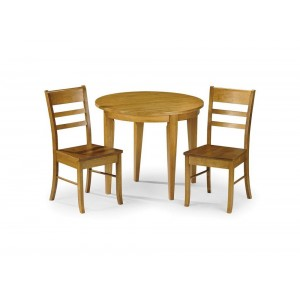 Consort Dining Set {Table + 2} *Out of Stock - Back Soon*