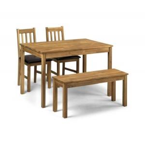 Coxmoor Rectangular Dining Set {Table + Bench + 2}