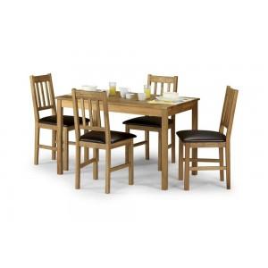 Coxmoor Rectangular Dining Set {Table + 4}