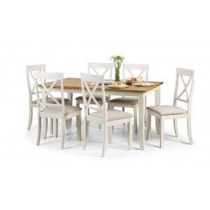 Davenport Rectangle Dining Set {Table + 6}