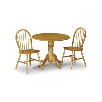 Dundee Dining Set with Windsor Chairs {Table + 2}