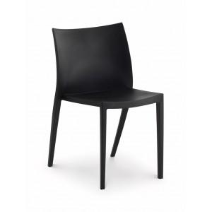 Fresco Black Indoor/Outdoor Chair