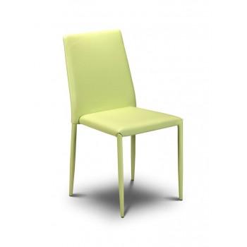 Jazz Green Stacking Chair (Assembled)