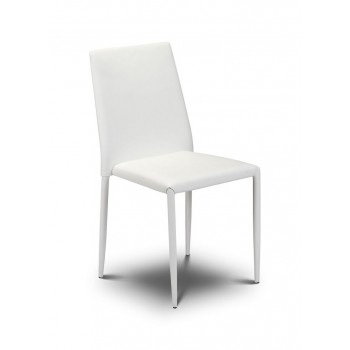 Jazz White Stacking Chair (Assembled) *Out of Stock - Back Soon*