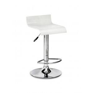 Stratos White Bar Stool *Out of Stock - Back Soon*