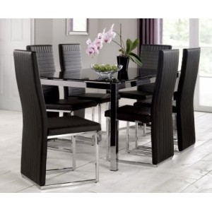 Tempo Dining Set {Table + 6}