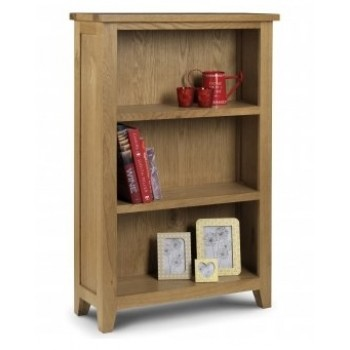 Astoria Oak Low Bookcase (Assembled)
