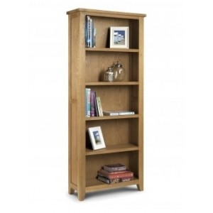 Astoria Oak Tall Bookcase (Assembled)