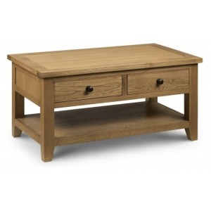 Astoria Oak Coffee Table (Assembled)