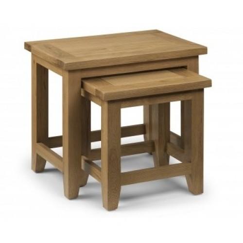 Astoria Oak Table Nest (Assembled)