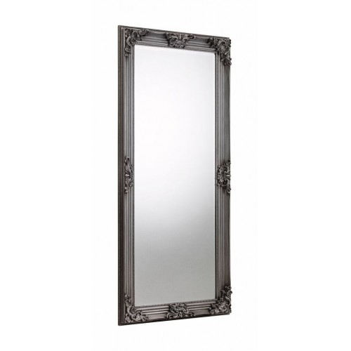 Rococo Pewter Dress Mirror