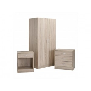 Delta 3 Piece Bedroom Set