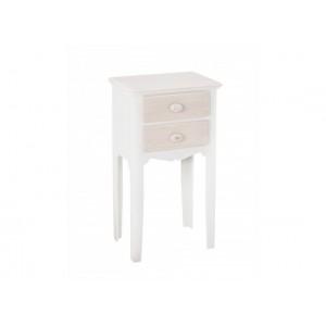 Juliette 2 Drawer Bedside Table {Assembled}