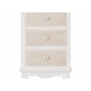 Juliette 3 Drawer Bedside Cabinet {Assembled}